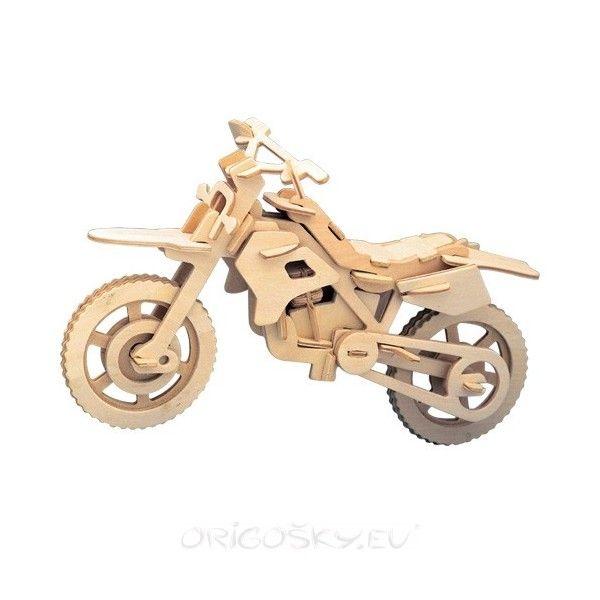 3D Puzzle - arazide motosiklet