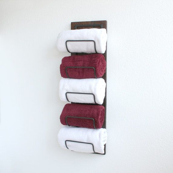 Nice Spruce Up Your Bathroom With This Decorative Wall Mounted Towel Rack That  Has A Smart,