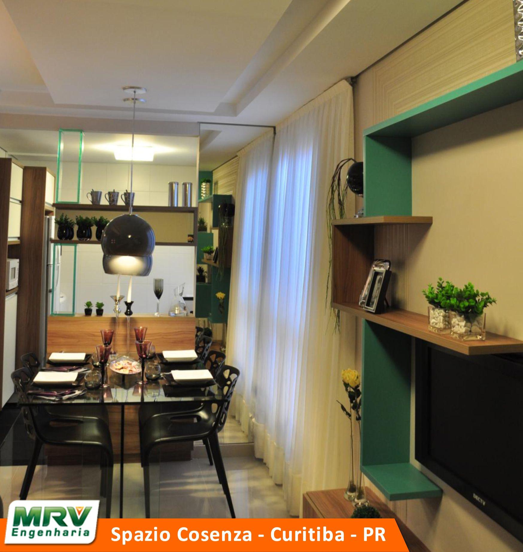 Apartamento Decorado Do Spazio Cosenza No Bairro Pinheirinho  -> Apartamento Mrv Decorado Fotos