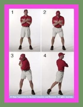 Golfers who want to begin an exercise program that helps their golf game should choose exerci