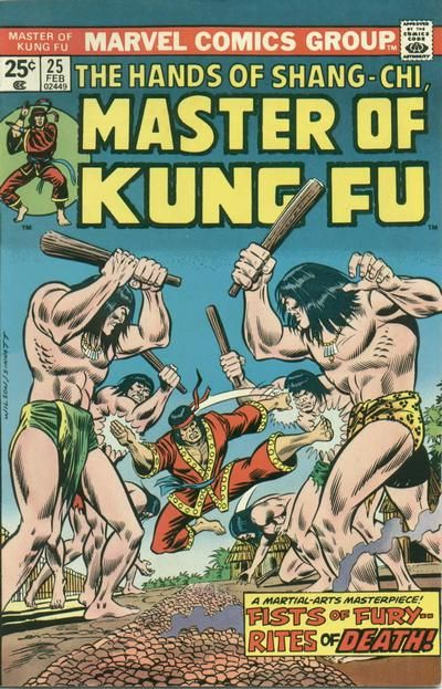 Master of Kung Fu # 25 by Ron Wilson & Joe Sinnott