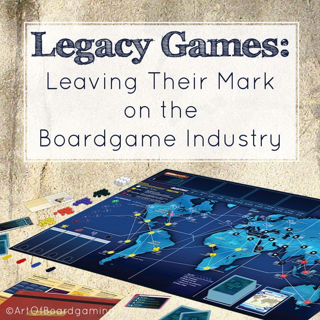 Legacy Games Leave Their Mark