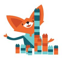 Clever Fox by João Abraúl, via Behance