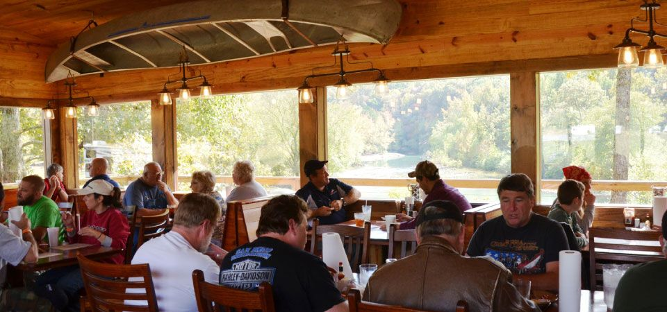 Byrd's Adventure Center on the Mulberry River for All