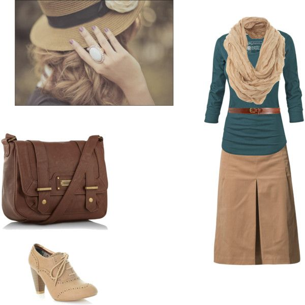 """Ready to Go!"" by createdfeminine on Polyvore. I would definitely wear different shoes with this, but the outfit is cute."