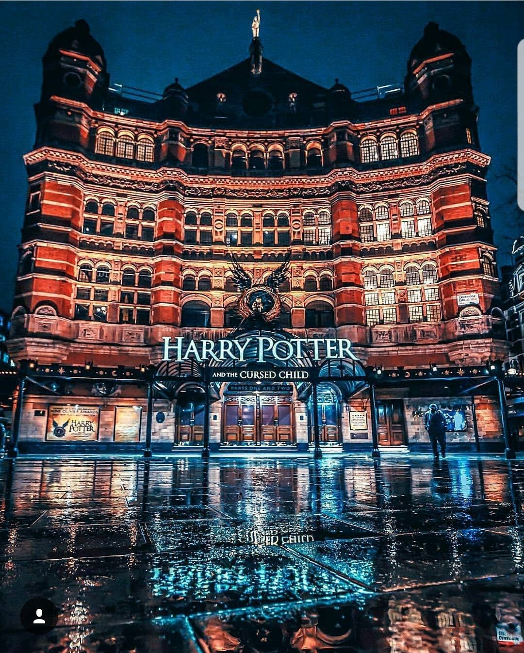 Harry Potter And The Cursed Child London England London Best Places To Travel London City