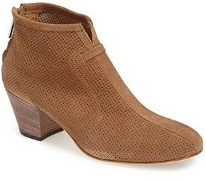 Aquatalia by Marvin K. 'Xcellent' Perforated Suede Bootie (Women)