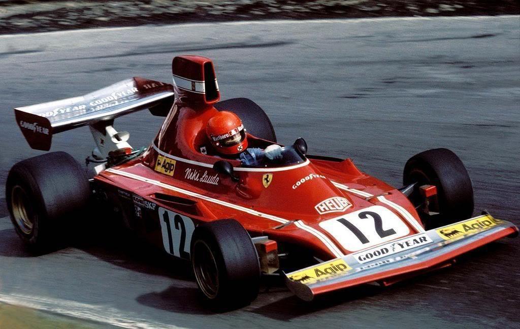1974 Niki Lauda , Ferrari 312B3 Ferrari 3.0 Flat 12