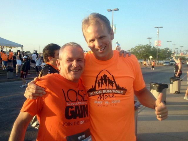 St Louis 5k to benefit the MORE Project with Mark Macdonald