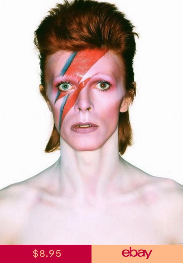 David Bowie Aladdin Sane Megastar Rock Music Wall Print Poster With Images David Bowie Bowie Ziggy Stardust