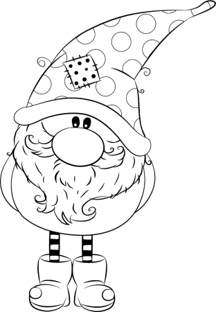 Gnome Coloring Pages Coloring Rocks In 2020 Christmas Coloring Pages Christmas Drawing Christmas Colors
