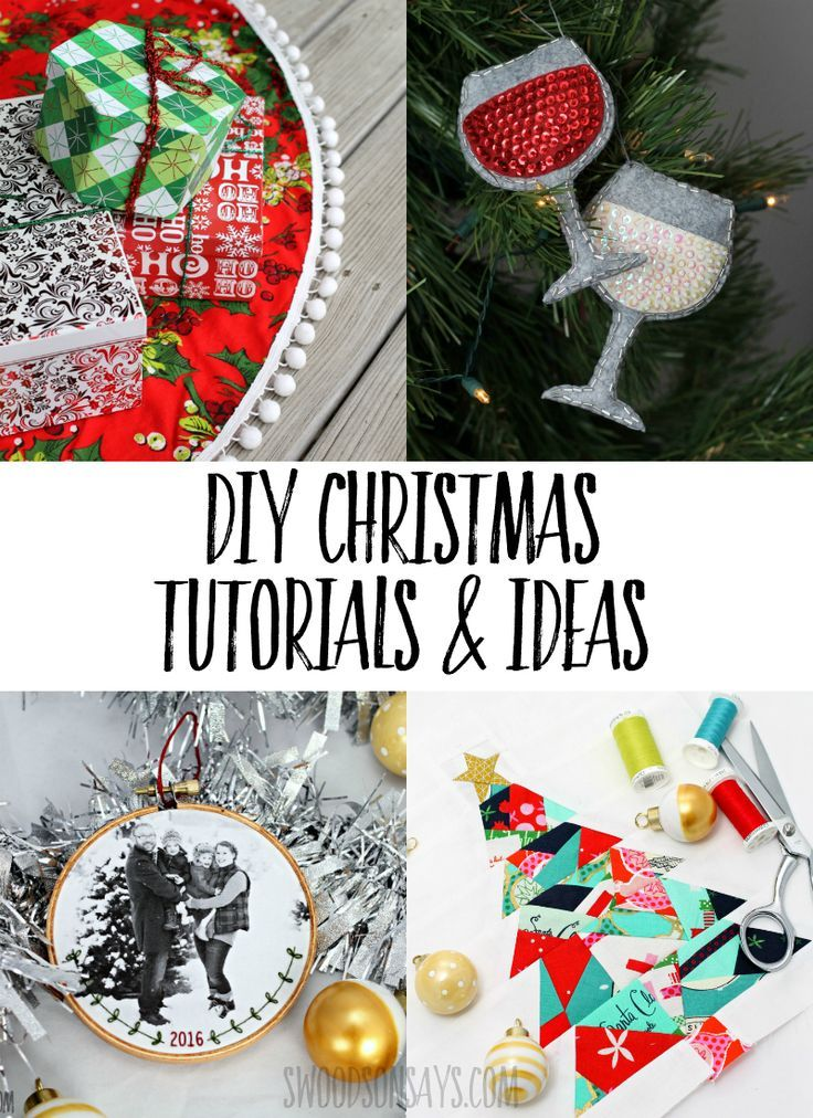 Loads Of Free Diy Christmas Sewing Patterns Craft Tutorials And