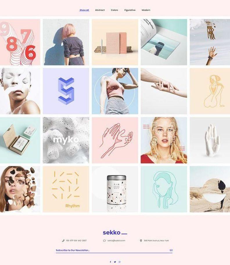 Your new portfolio is here! Get Sekko WordPress theme and awe the crowd. #wordpress #theme #layout #design #webdesign #template #responsive #wordpresslove #uxdesign #uidesign