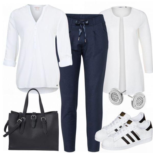 Chic Sporty Lady Outfit – Traje de ocio completo a precios bajos | – Moda mujer 60