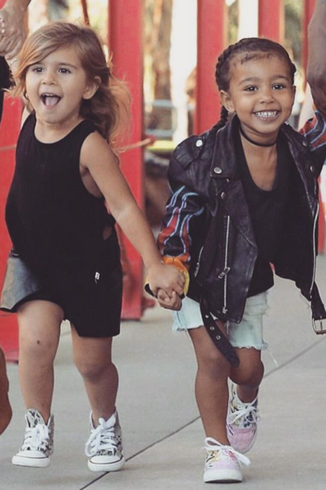 Penelope Disick And North West Penelope Disick Kids Fashion Celebrity Kids