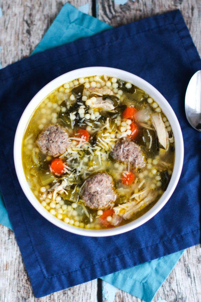 Best Italian Wedding Soup | Recipe in 2021 | Italian soup