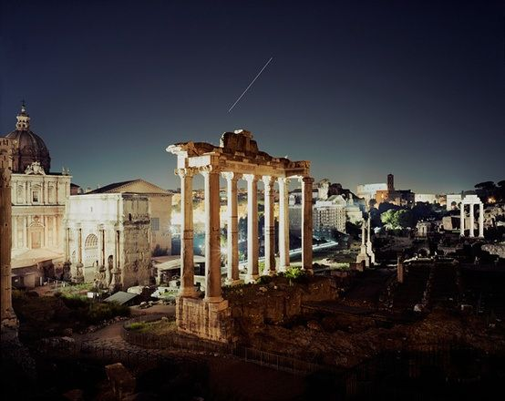 The Roman #Forum is a rectangular forum (plaza) surrounded by the ruins of several important ancient government buildings at the center of the city of #Rome. Citizens of the ancient city referred to this space, originally a marketplace, as the Forum Magnum, or simply the Forum. | #architecture #travel #tourism