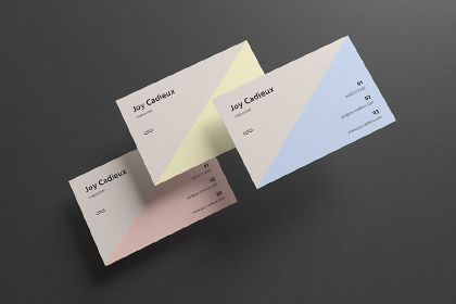 A modern stylish business card mockup is simply easy to use a modern stylish business card mockup is simply easy to use available in psd format reheart Image collections