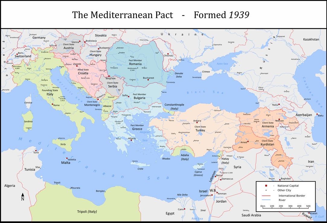 The Mediterranean Pact By Tullamareena