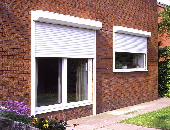 Little Understood Home Safety And Security Idea Several Which Come Directly From The White Residence Security Shutters Shutters Exterior Window Security