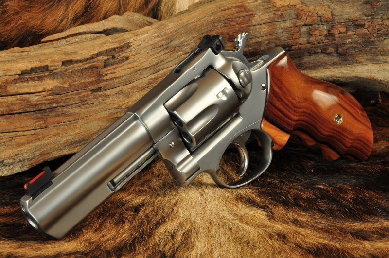 Ruger GP100 4 inch stainless steel  357 mag | Firearms
