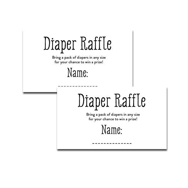 photo regarding Free Printable Diaper Raffle Tickets Black and White identify Totally free Printable Kid Shower Black White Very simple - Incorporate
