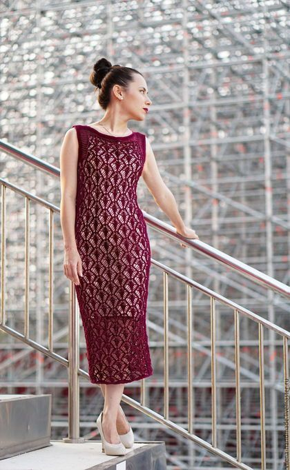 7ad21d9add71fff Платья ручной работы. Ярмарка Мастеров - ручная работа. Купить Платье цвета  марсала. Handmade. Бордовый, вечернее платье, бургунди