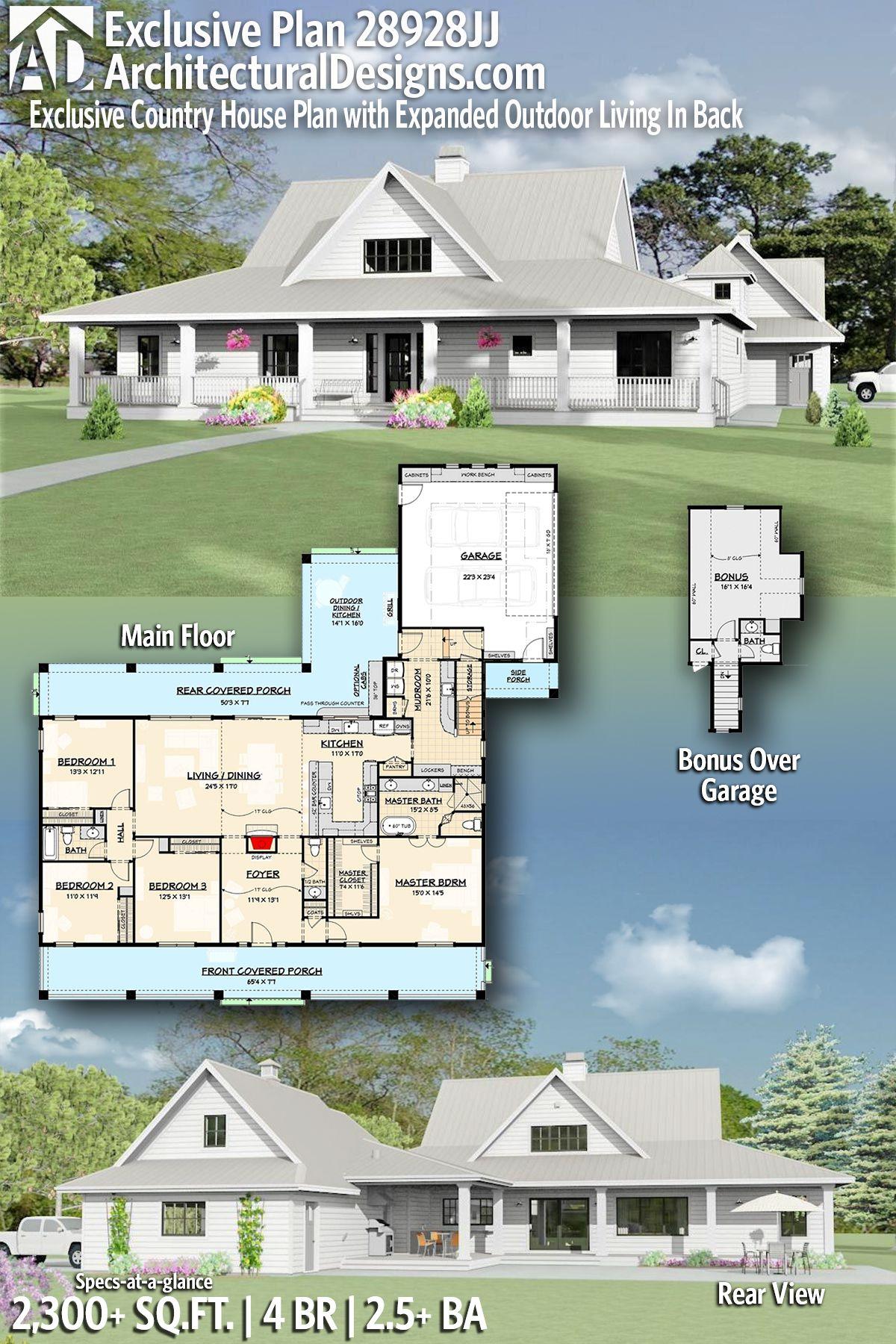 Introducing Architectural Designs Craftsman Home Plan 28928JJ