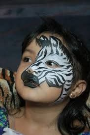 Afbeeldingsresultaat Voor Kindergrime Zebra Yuzler Makyaj Maskeler