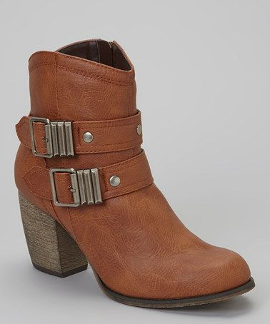 Take a look at this Tan Chris-02 Boot by Mixx Shuz on #zulily today!
