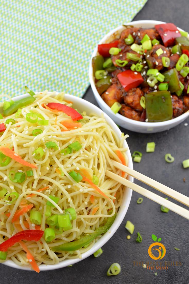 Burnt Garlic & Cilantro Noodles | Recipe | Dinner Ideas