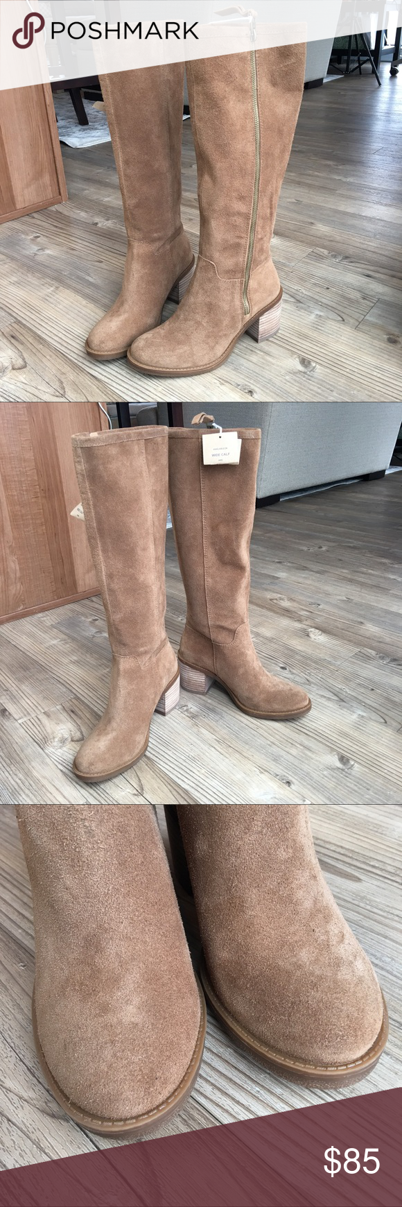 0ea6bdb70ca Lucky Brand Resper Brown Suede Boots 6 New Without Box Lucky Brand Resper  Knee High Brown Suede Boots. Size 6M - Color  Honey Oiled Brown - Suede  with a ...