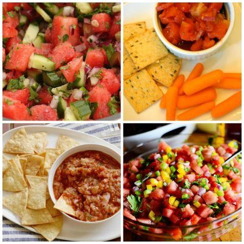 End of summer salsa recipes