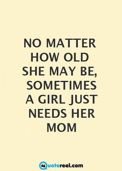 Quotes no mom says girlfriend Your Mother's