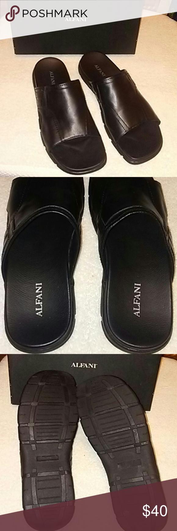 NWB ALFANI Sandals 13M NWB 13M ALFANI SANDALS BLACK Alfani Shoes Sandals & Flip-Flops