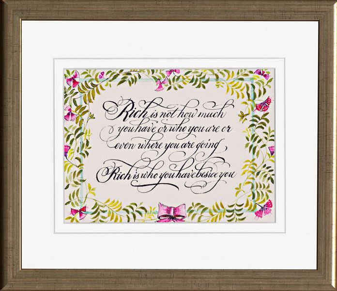 Perfect Wedding Gifts: A Simple Message About Love. The Perfect Wedding Or