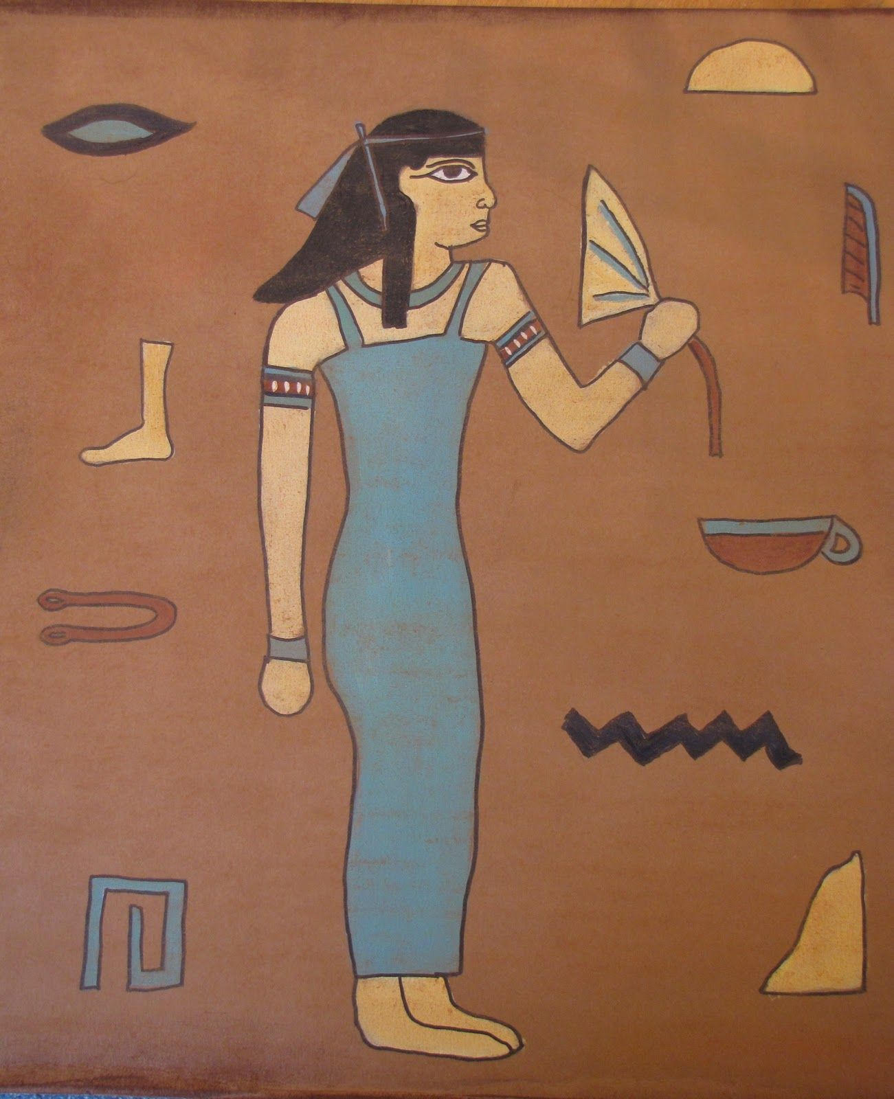 Do Art Draw Like An Egyptian Art Project In