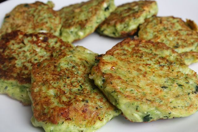 Mücver Fritters with Tzatziki Sauce- a great way to sneak in some veggies