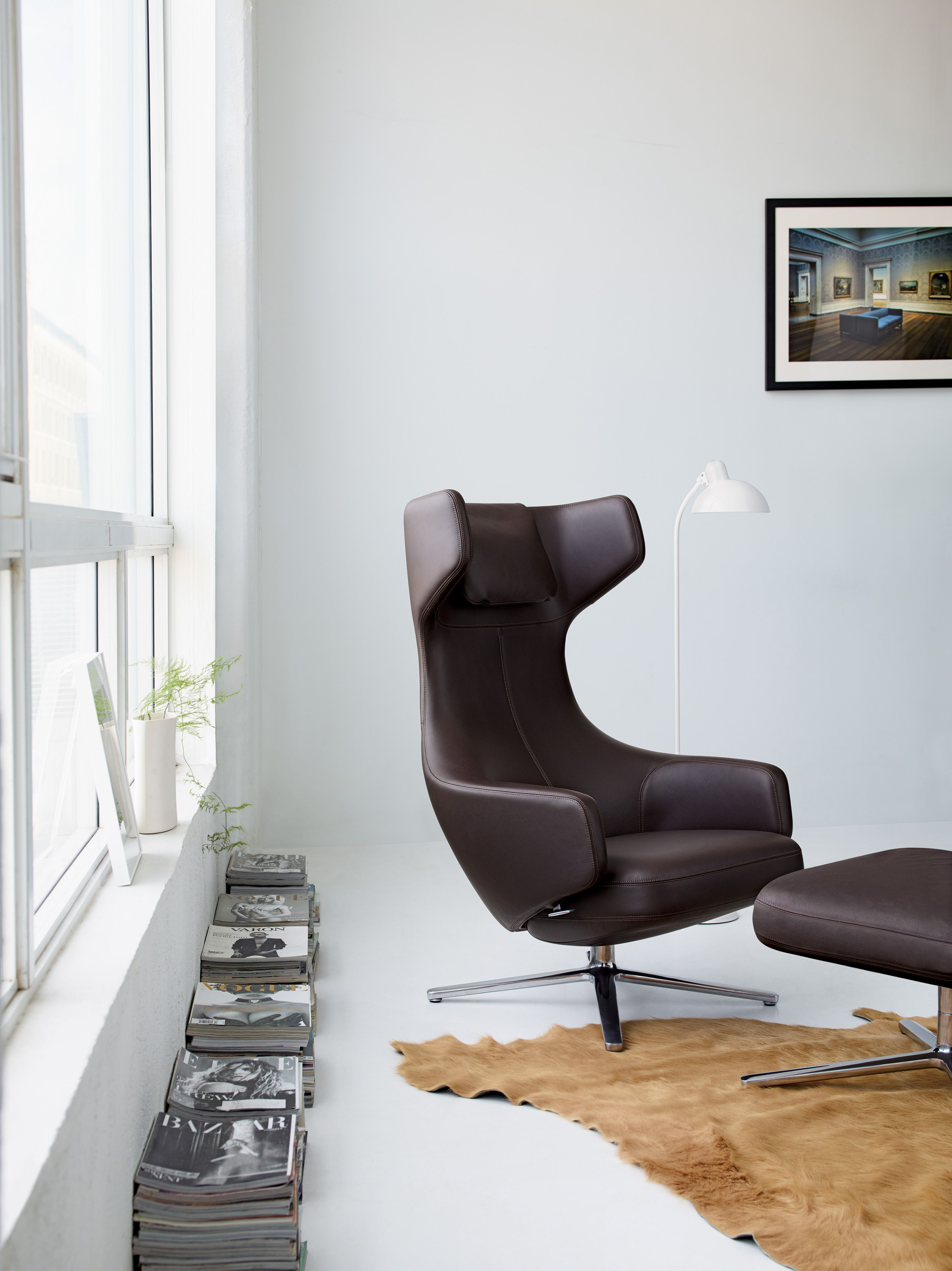 Grand Repos Lounge Chair and Ottoman | Pinterest | Ottomans ...