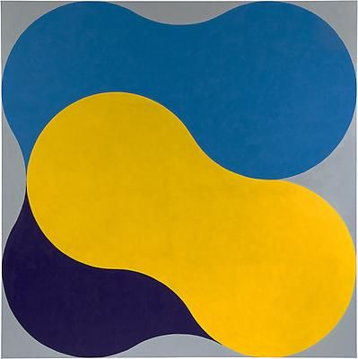 Richard Gorman K-Nip 2014 oil on linen 170 x 170 cm / 66.9 x 66.9 in