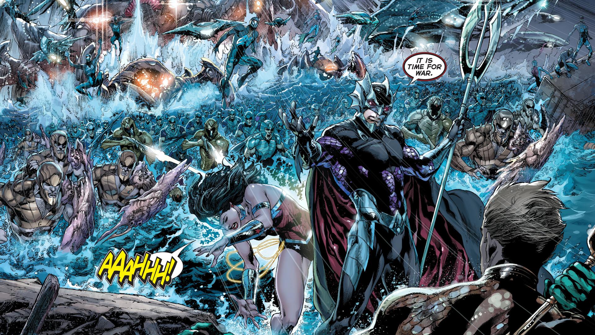 Justice League New 52 Wallpaper 1080p On Wallpaper 1080p Hd Aquaman Ocean Master Justice League New 52