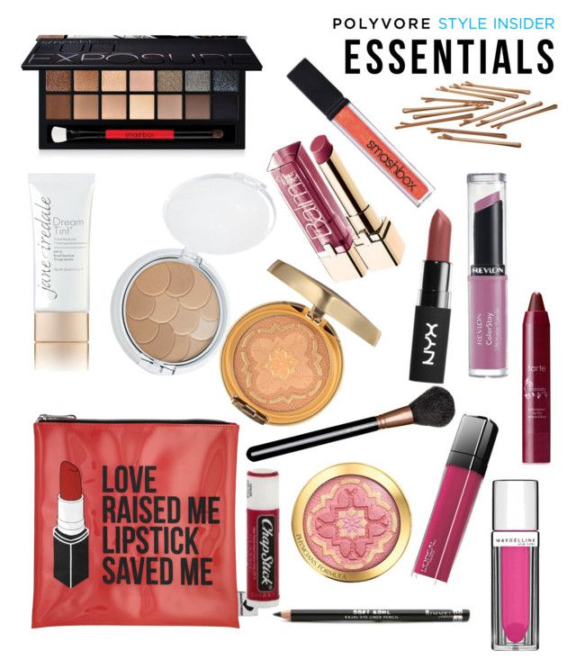 """""""Makeup Bag Staples"""" by dayna-marie on Polyvore featuring beauty, Sephora Collection, Jane Iredale, Physicians Formula, MAC Cosmetics, Rimmel, Smashbox, Maybelline, L'Oréal Paris and tarte"""