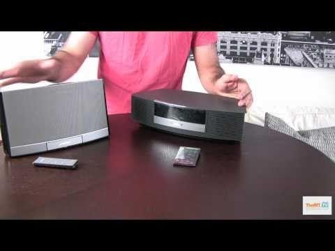Bose Wave Radio Vs Bose Sounddock Portable