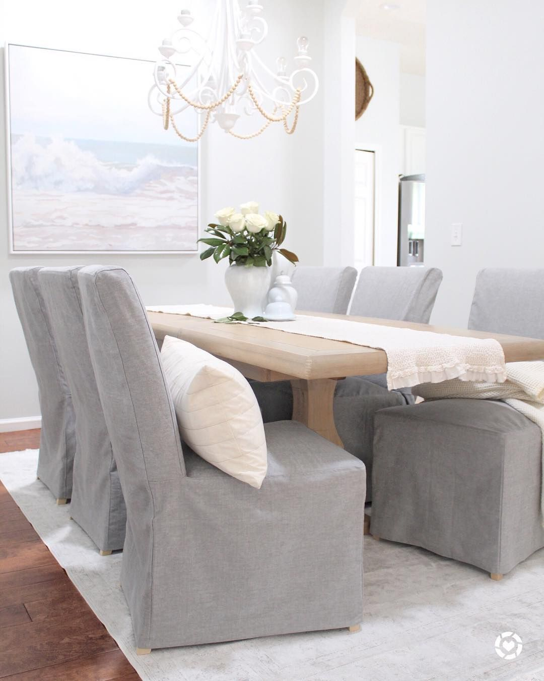 Ikea Henriksdal In Madison Ash Dining Chair Slipcovers