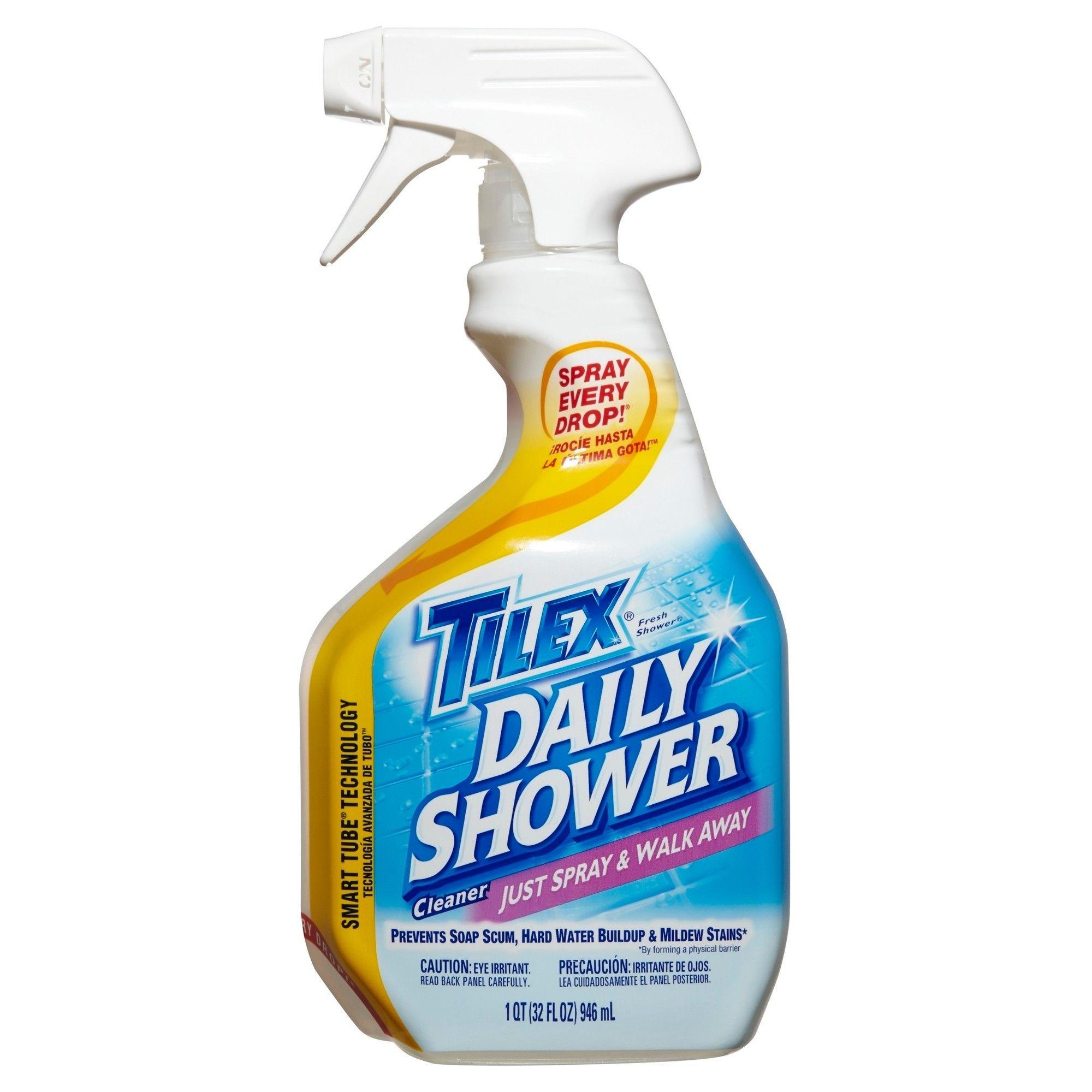 Clorox Plus Tilex Daily Shower Cleaner Spray Bottle 32oz Daily Shower Cleaner Shower Cleaner Daily Shower Spray