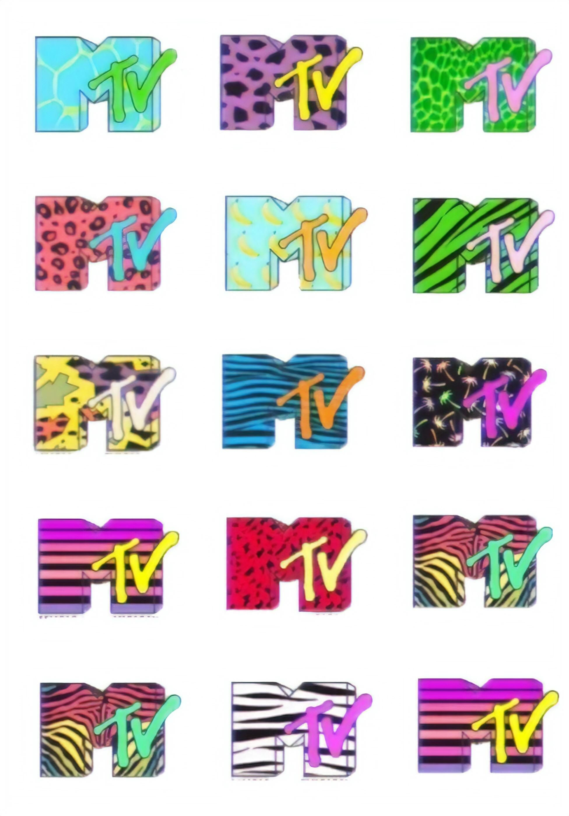 Vintage Mtv Logos Vaporwaveaesthetics Mtv Logo Mtv Retro