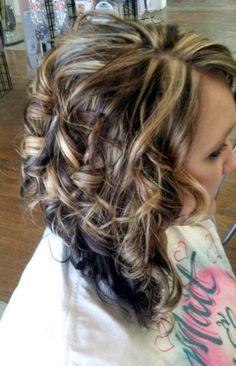 Dark Brown Hair Color With Caramel Highlights Description