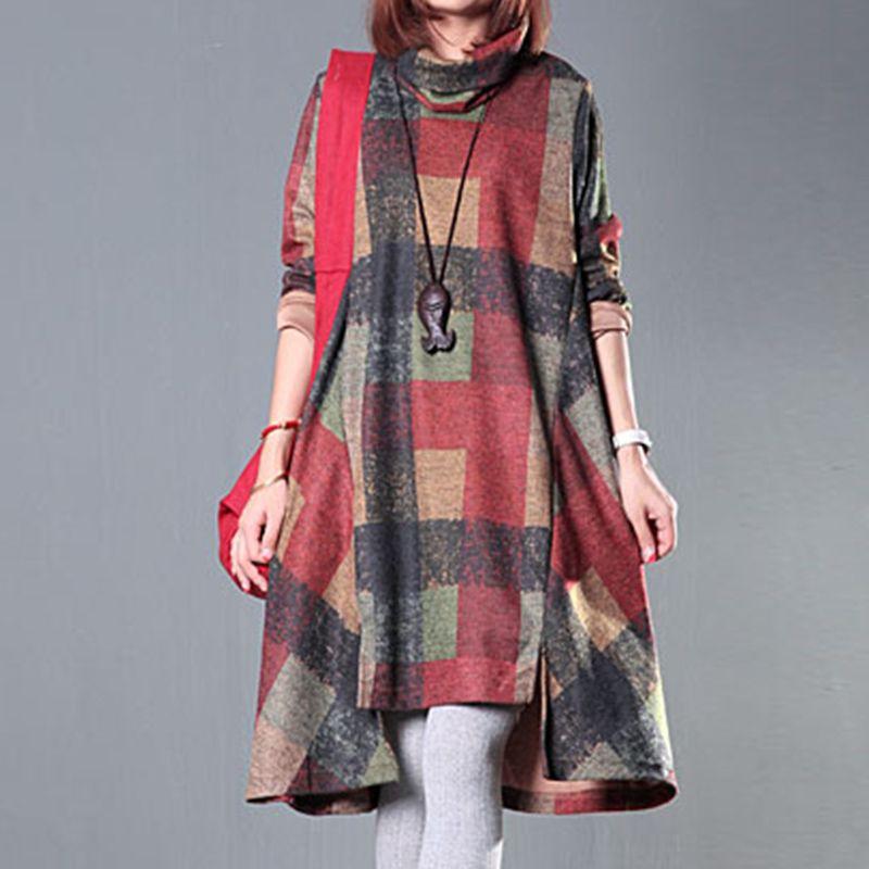 Winter Dress Plus Size Turtleneck Dress   Price   28.99   FREE Shipping      hashtag3 8e5de3546f