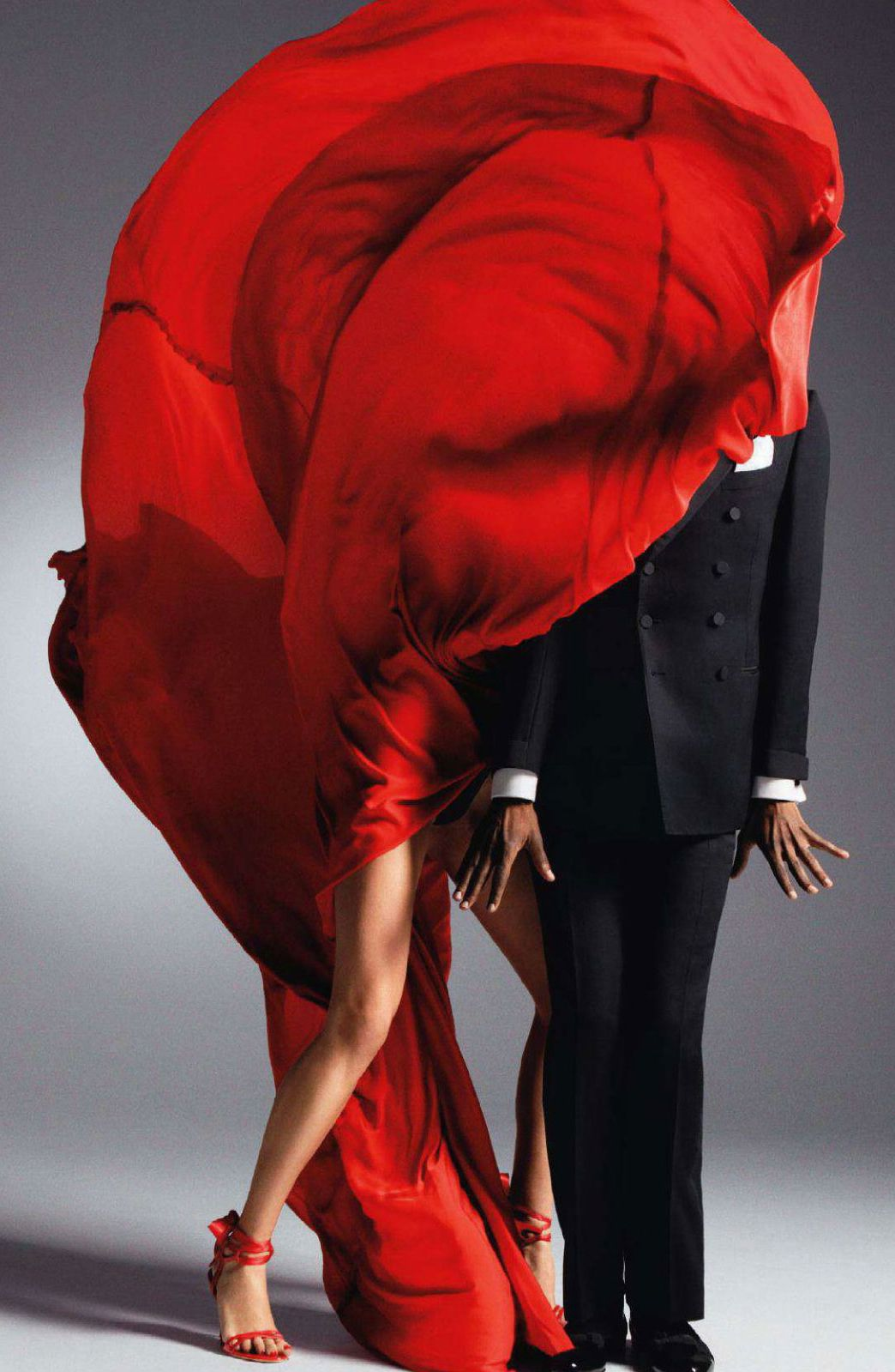 Vogue Nippon March 2011 (photography: Inez & Vinoodh, styling: George Cortina)