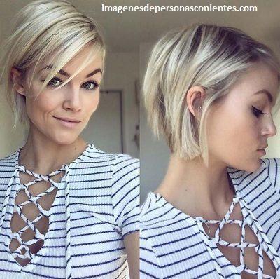 Corte de cabello chiquito moderno